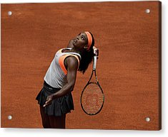 Serena Williams 3 Acrylic Print