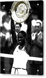 Serena Williams Got Another Title Acrylic Print