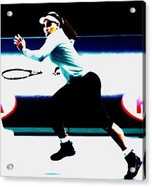 Serena Williams Hot Pursuit Acrylic Print