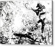 Serena Williams S1a Acrylic Print