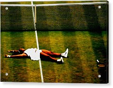 Serena Williams History Made Acrylic Print
