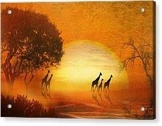 Serenade Of The Serengeti Acrylic Print