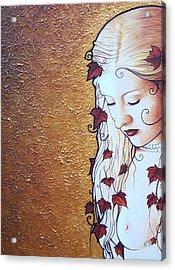 Serene Ivy Acrylic Print by Yuri Leitch