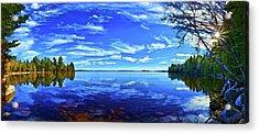 Serene Reflections Acrylic Print