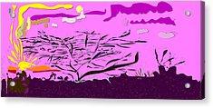 Serengeti  Acrylic Print by Angela A Stanton