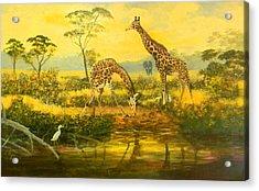 Serengetti Sunrise Acrylic Print