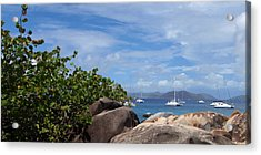 Serenity Abounds Acrylic Print by Ginger Howland