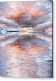 Serenity And Peace Acrylic Print by Jerry McElroy