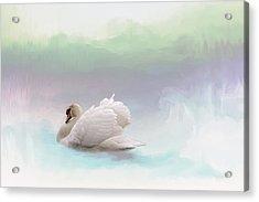 Serenity Acrylic Print by Annie Snel