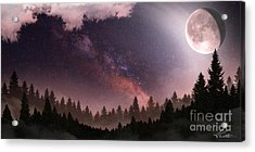 Acrylic Print featuring the digital art Serenity by Anthony Citro