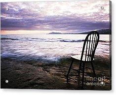 Serenity At Portlock Acrylic Print
