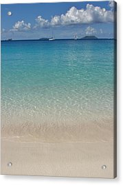 Serenity At Trunk Bay  Acrylic Print