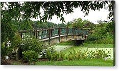 Acrylic Print featuring the photograph Serenity Bridge by David Dunham