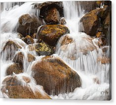 Serenity Central Acrylic Print by Chris Scroggins