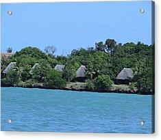 Serenity - Chale Island Kenya Africa Acrylic Print