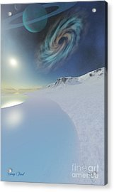 Serenity Acrylic Print by Corey Ford