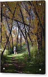 Serenity Acrylic Print by George Hausler