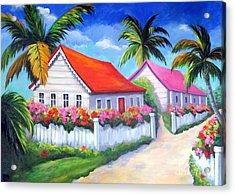 Serenity In Paradise Acrylic Print