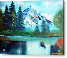 Serenity Acrylic Print by Janpen Sherwood