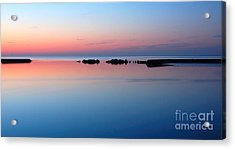 Serenity Acrylic Print by Joe  Ng