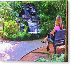 A Moment Of Serenity Acrylic Print