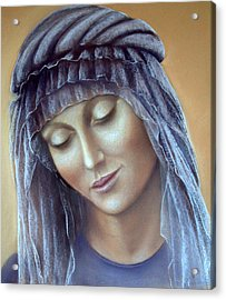 Acrylic Print featuring the painting Serenity by Rosemary Colyer