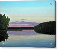 Serenity Skies Acrylic Print