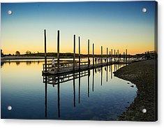 Serenity Sunset Kings Park New York Acrylic Print