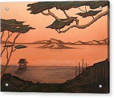 Serenity's Eve Acrylic Print by Shelby Kube