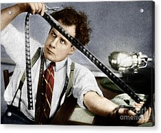 Acrylic Print featuring the photograph Sergei Eisenstein by Granger