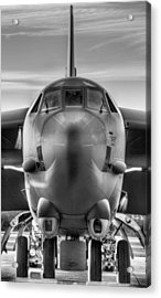 Serious Business Black And White Acrylic Print by JC Findley
