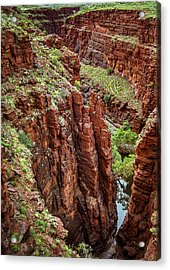 Serious Crags Acrylic Print