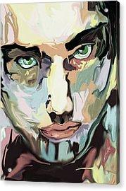 Serious Face Acrylic Print