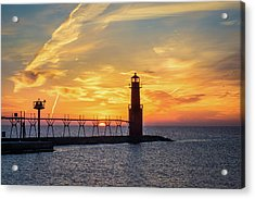 Acrylic Print featuring the photograph Serious Sunrise by Bill Pevlor