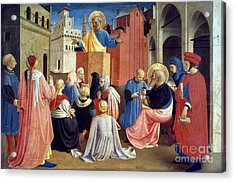 Sermon Of St Peter Acrylic Print by Granger
