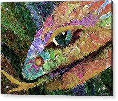 Serpens Acrylic Print by Linda Cornelius