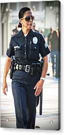 Serve And Protect Acrylic Print by Chris Yarzab