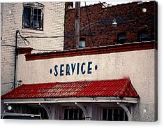 Service Acrylic Print by Jame Hayes