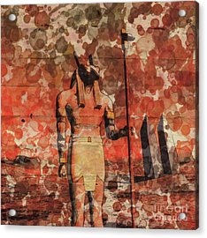 Set, Egyptian God By Raphael Terra And Mary Bassett Acrylic Print