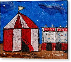 Set My Circus Down Acrylic Print