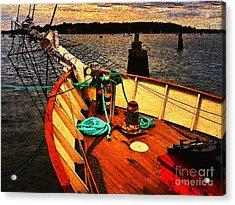 Set Sail Acrylic Print by Jeff Breiman