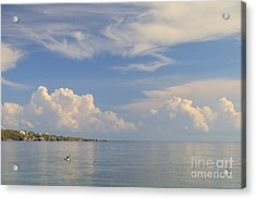 Setting Out Acrylic Print