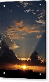Acrylic Print featuring the photograph Setting Softly by Jan Amiss Photography