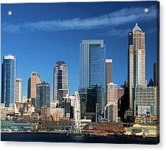 Seattle, Wa, Fine Art Print Acrylic Print by Greg Sigrist