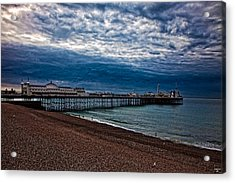 Seven Am On Brighton Seafront Acrylic Print