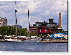 Seven Foot Knoll Lighthouse - Baltimore Acrylic Print