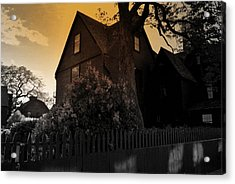 Acrylic Print featuring the photograph Seven Gables by Laura DAddona