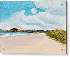 Seven Mile Beach On A Calm, Sunny Day Acrylic Print