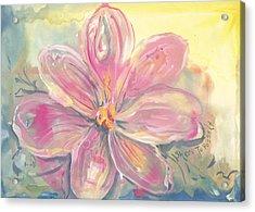 Seven Petals Acrylic Print
