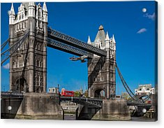 Seven Seconds - The Tower Bridge Hawker Hunter Incident  Acrylic Print